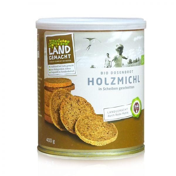 """""""Landgemacht"""" Bio Holzmichl-Dosenbrot 400g"""