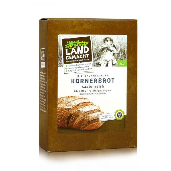 """""""Landgemacht"""" Bio Körnerbrot 500g"""