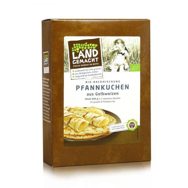"""""""Landgemacht"""" Bio Gelbweizen Pfannkuchen 500g"""