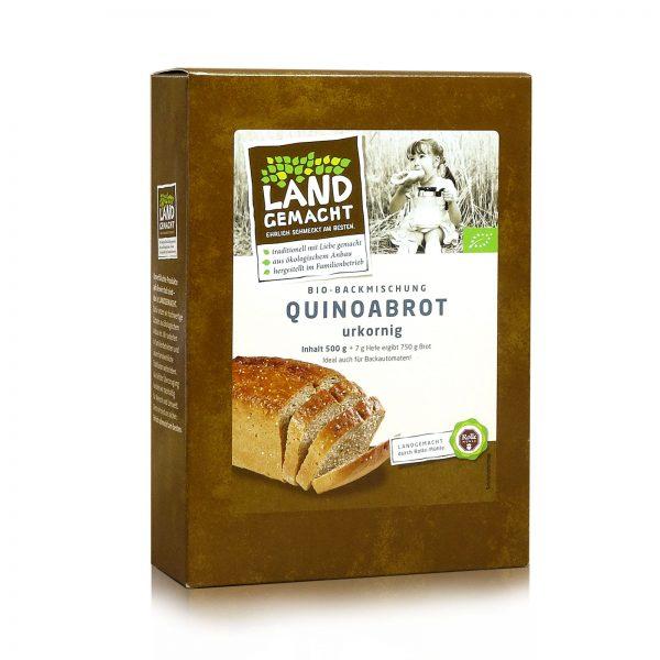 """""""Landgemacht"""" Bio Quinoabrot 500g"""