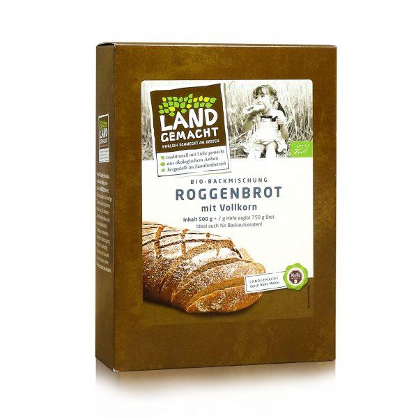 """Landgemacht"" Bio Roggenbrot 500g"
