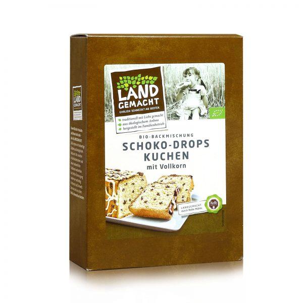 """""""Landgemacht"""" Bio Schoko-Drops-Kuchen 390g"""
