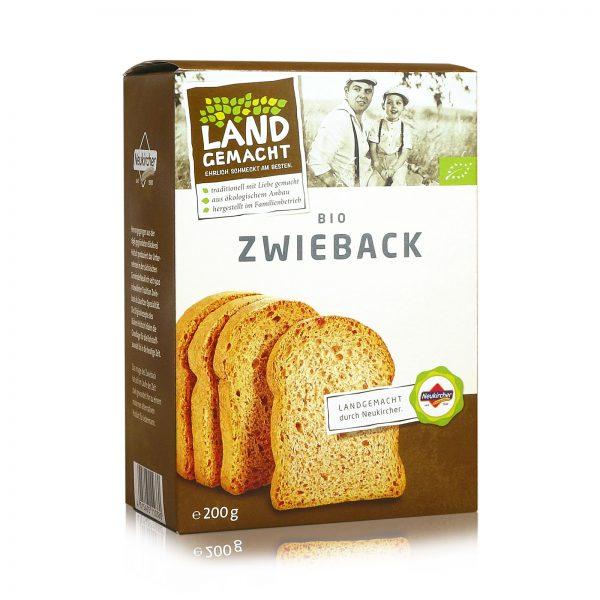 """""""Landgemacht"""" Bio Zwieback 200g"""