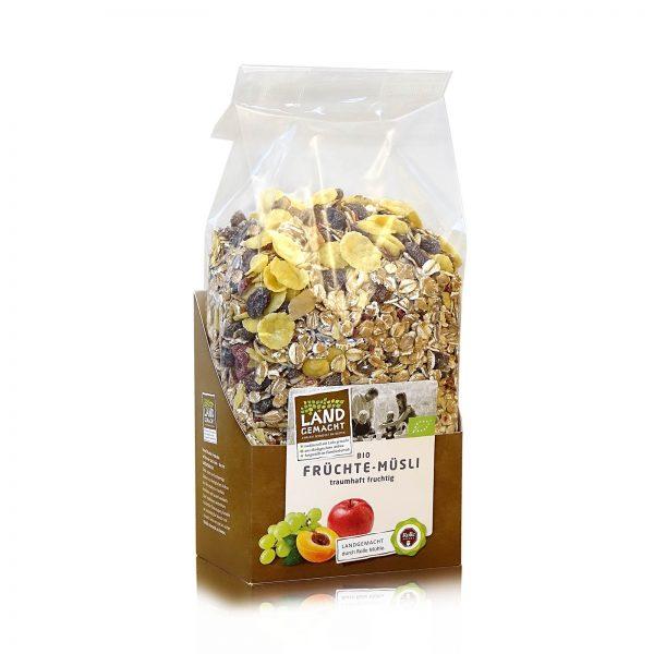 """""""Landgemacht"""" Bio Früchte-Müsli 500 g"""