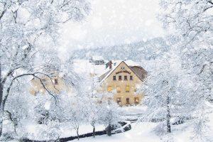 Weihnachten in der Rolle Mühle