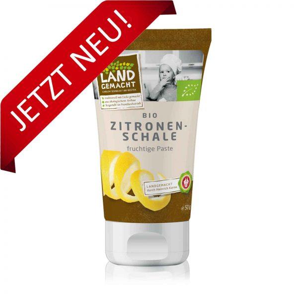 """""""Landgemacht"""" Bio Zitronenschalenpaste 50 g"""
