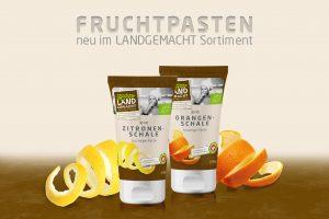 LANDGEMACHT Fruchtpasten Orange und Zitrone