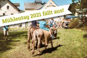 Mühlentag 2021 Rolle Mühle fällt aus