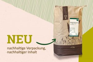 Nachhaltige Verpackung Großgebinde